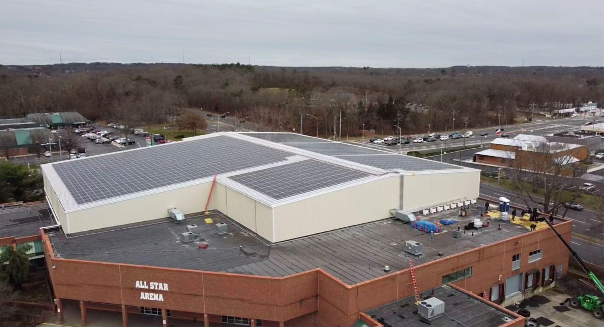 Selden Commercial Center Community Solar Image 1